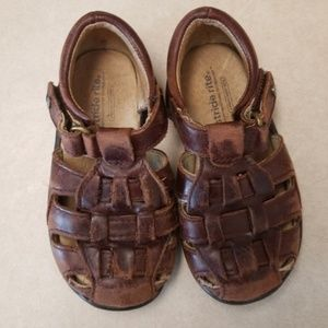 Real leather Stride Rite boys sandal